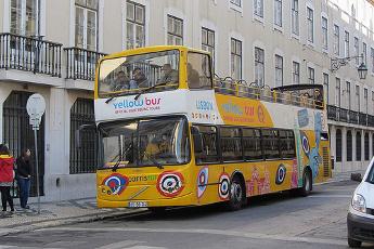 Lisboa desde el autobús turístico