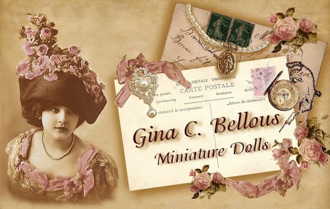 Gina C. Bellous Miniature Dolls