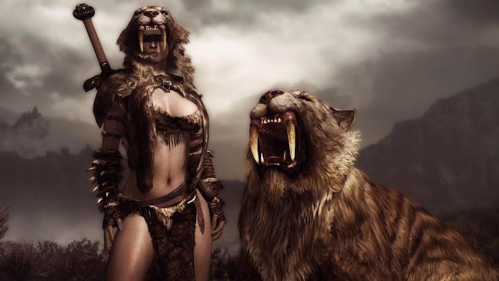 Elder Scroll Online Girl 11