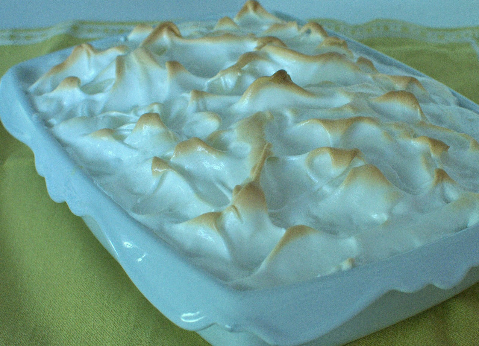 Banana Caramel Pudding With Meringue Topping Recipes — Dishmaps