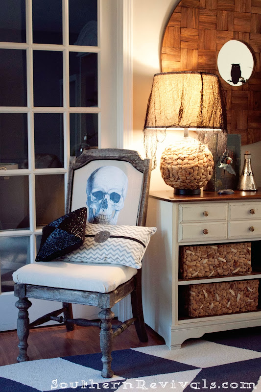 DIY Skull Chair