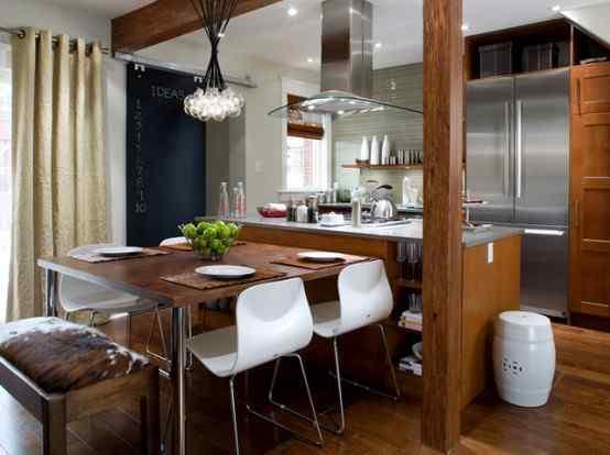 Otwarta kuchnia z salonem
