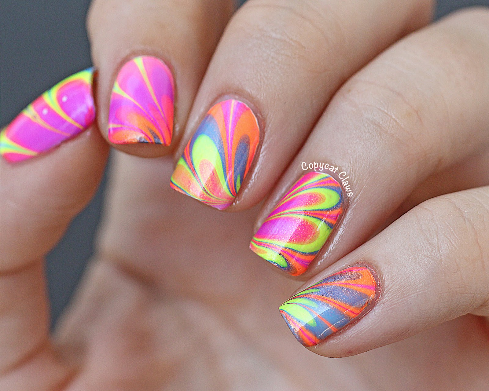 Nail Designs With Water And Nail Polish