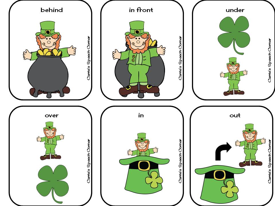 Carrie's Speech Corner: St. Patrick's Day Preschool ...