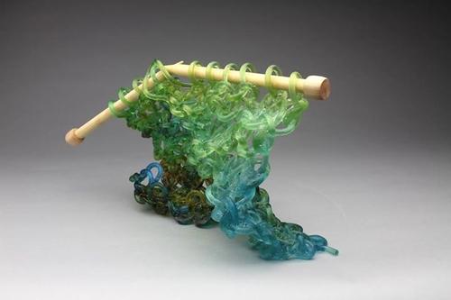 12-Carol-Milne-Glass-Knitted-Sculptures-www-designstack-co