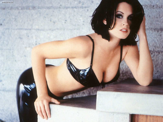 Jenny Mccarthy in lingerie fashion