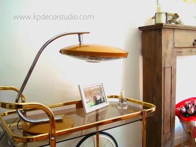 Tienda online de lámparas auténticas fase para escritorio. Lampara original antigua de los años 50 y 60