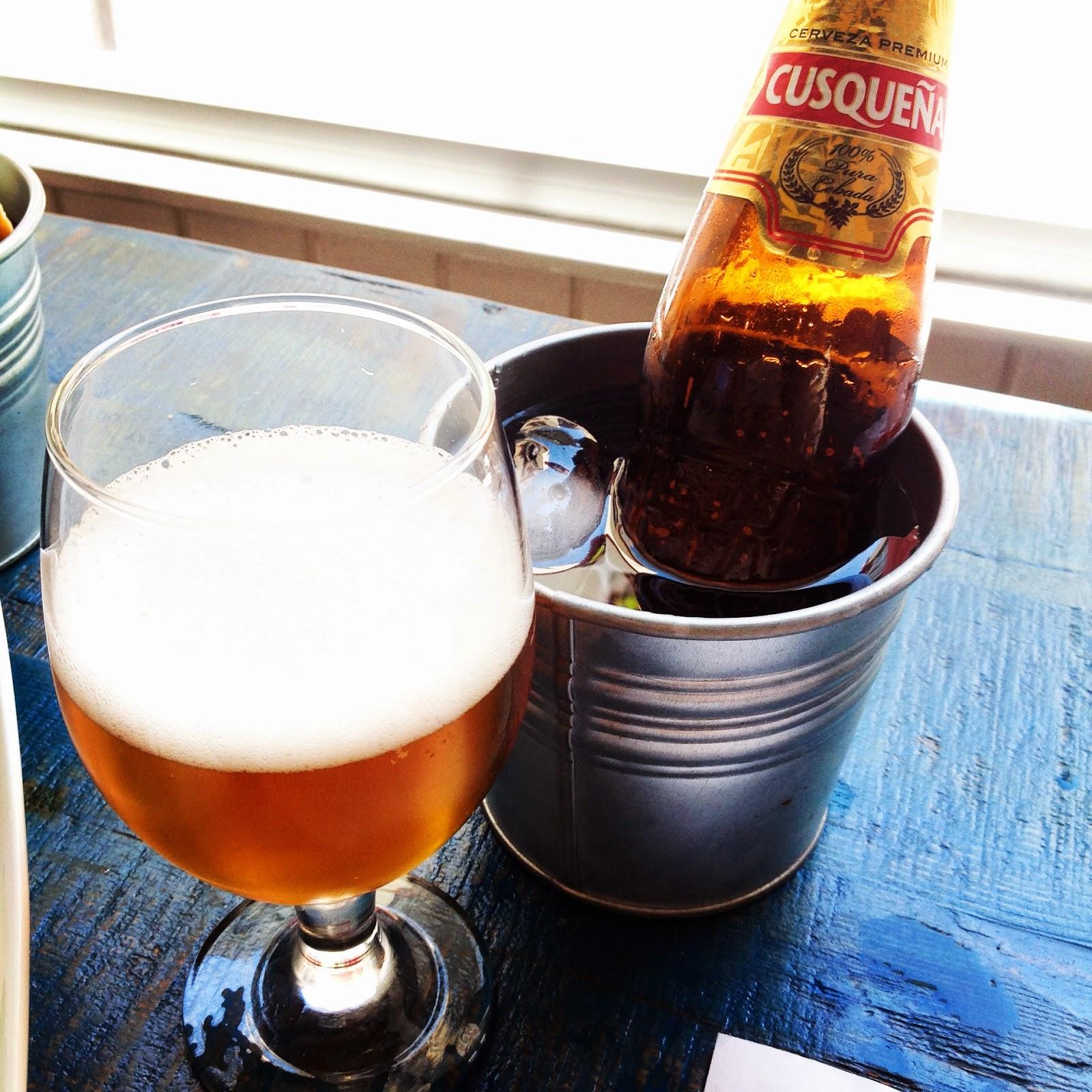 Cerveza peruana Cusqueña
