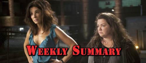 Sandra Bullock Weekly Summary