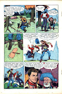 Buster Crabbe v1 #3 golden age comic book page art by Al Williamson