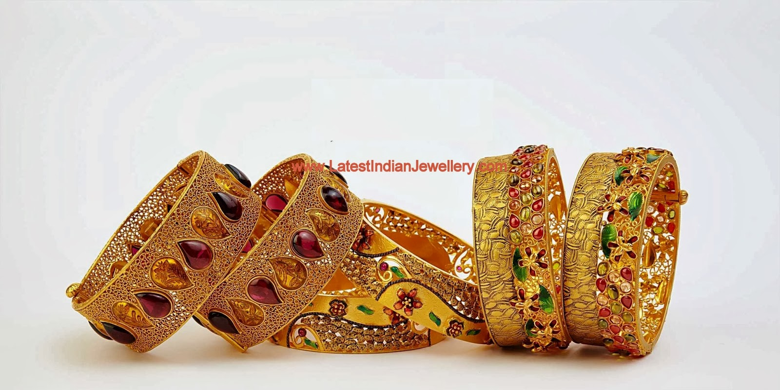 Latest Gold Bangles Collection
