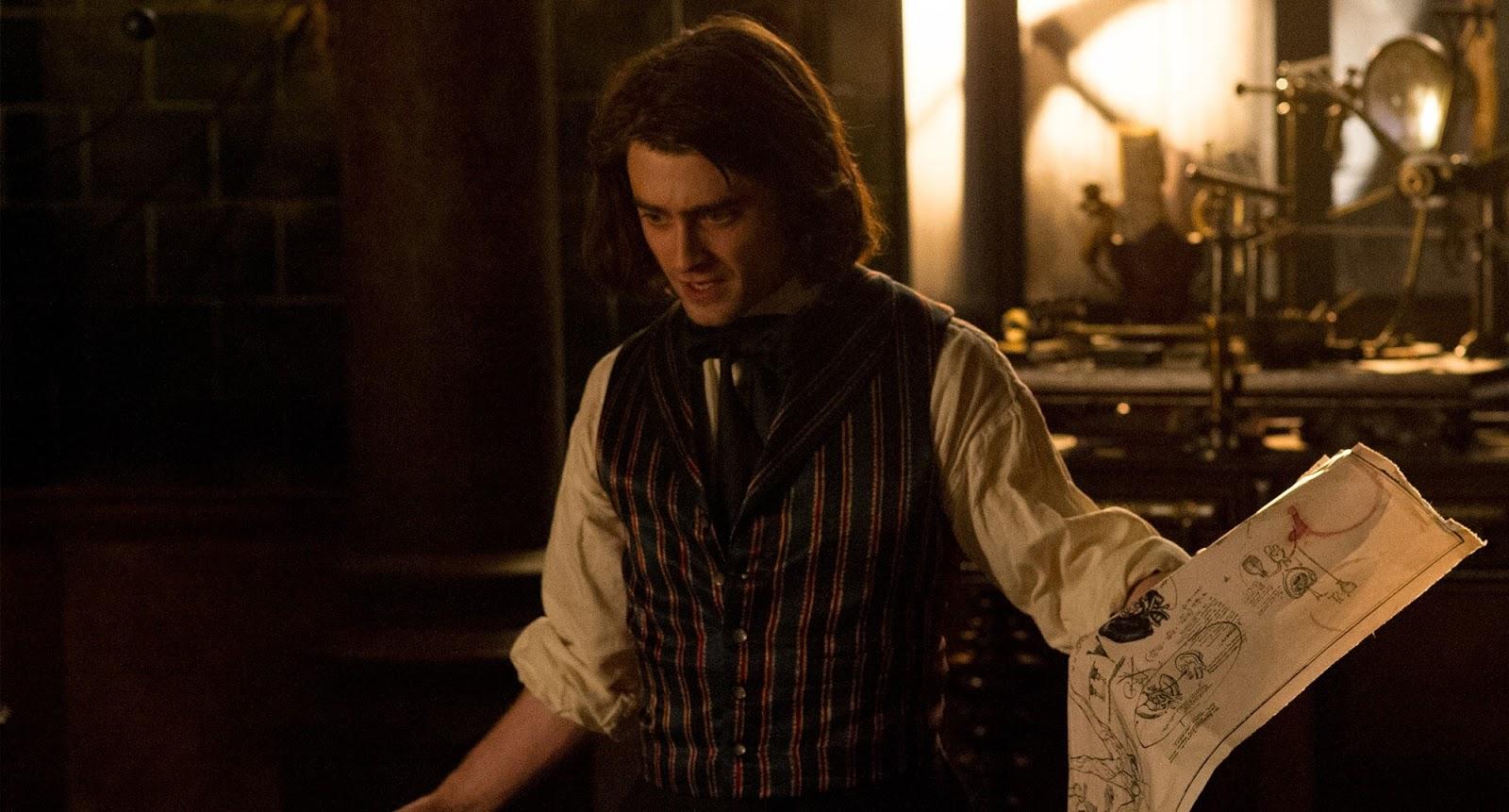Daniel Radcliffe as hunchback Igor