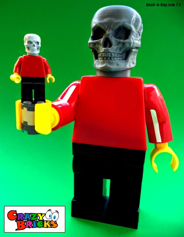 [CONTEST] Win a Set of Skull LEGO Heads from Crazy Bricks