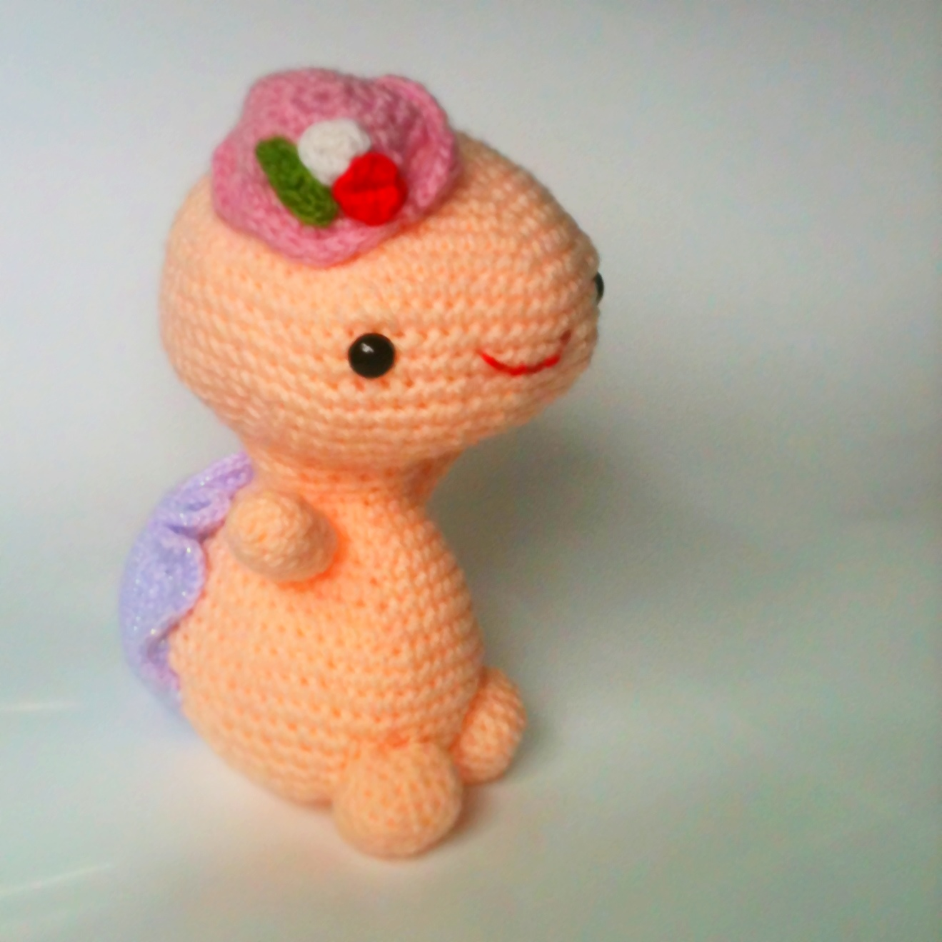 Crochet Pattern Amigurumi Turtle : on top of a lily pad: Crazy Cute Amigurumi Turtle