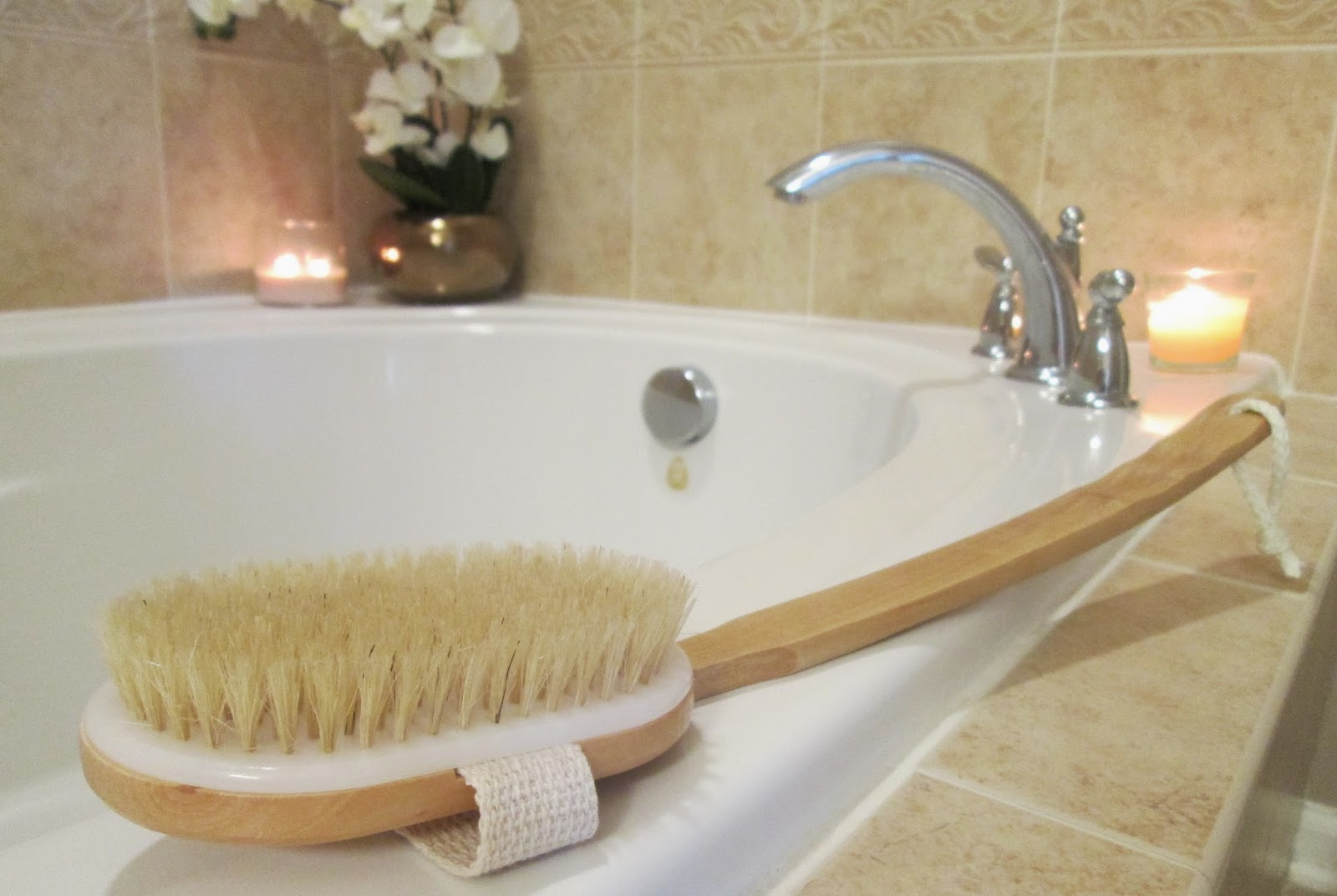 The benefits of using a natural bristle brush and dry brushing