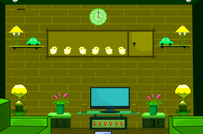 TheEscapeGames Fancy Green House Escape