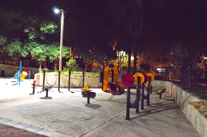 Parque de la Amistad. Montevideo.