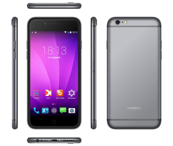 Российский бренд выпустил практически стопроцентный клон iPhone 6 - iX-maxi  копия iPhone 6 от teXet
