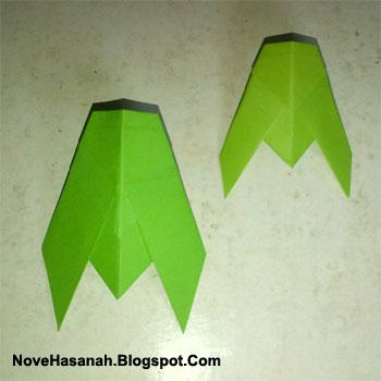 cara membuat origami yang mudah untuk anak TK, SD, dan pemula berbentuk tonggeret