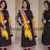 Lakshmi Rai Black Salwar Kameez
