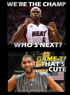Miami Heat Eastern Conference Finals Champion - Funny Clip | NBA FUNNY MOMENTS