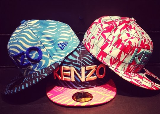 An Ordinary Girl  Kenzo x New Era Resort2014   Cap Collection 649672f8e7b