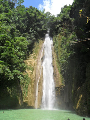 Barili Falls known as Mantayupan
