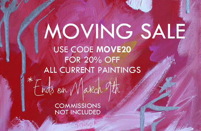 mimiandmegblog.com : MOVING SALE — ART SHOP