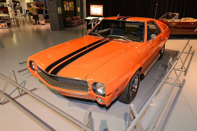 "1969 AMC ""Big Bad"" Orange AMX"