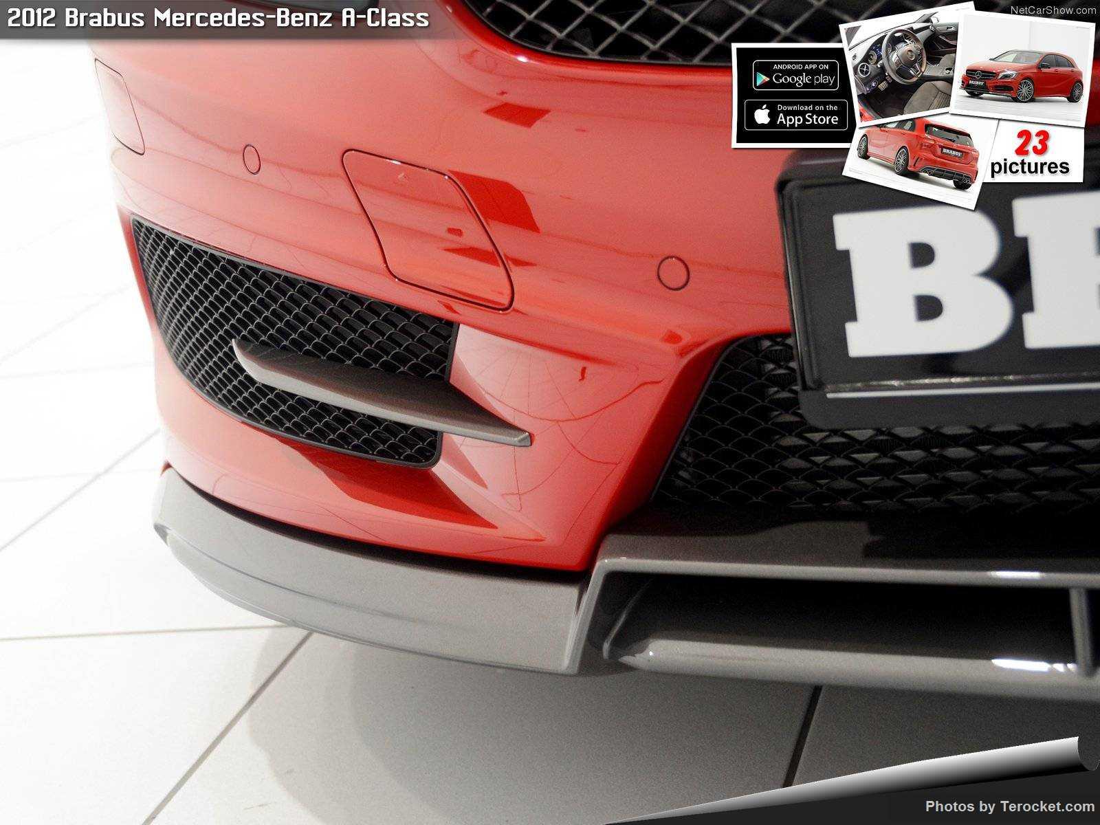 Hình ảnh xe ô tô Brabus Mercedes-Benz A-Class 2012 & nội ngoại thất