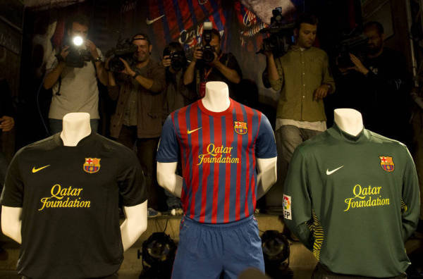 fc Barcelona 2012 team unifoem