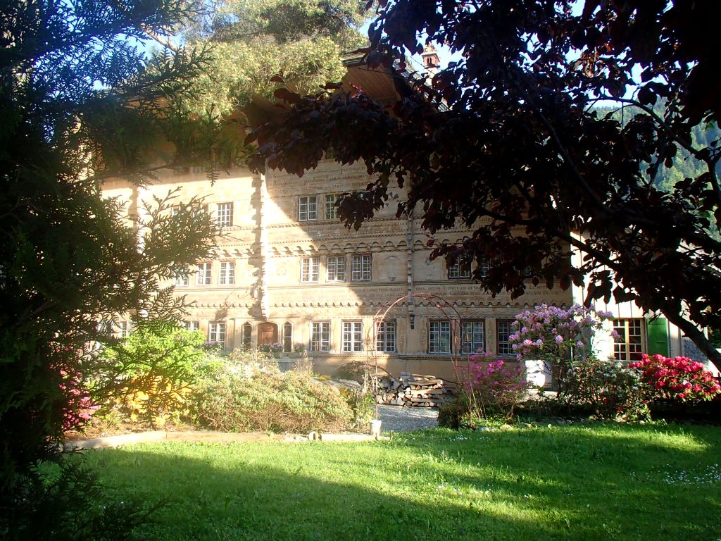 Vis ma vie en suisse le grand chalet de balthus for Balthus la chambre