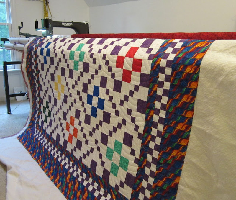 Long Arm Quilting Pattern Boards : Institches with Bonnie: My Second Scrap Squad Quilt