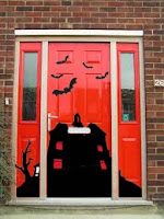 Halloween Door Decals