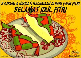 Kumpulan SMS Ucapan Hari Raya Idhul Fitri 2013 M/1434 H