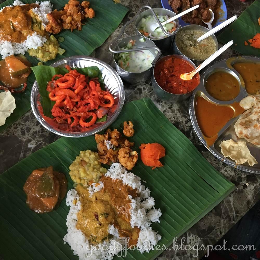 Goodyfoodies Devi S Corner Bangsar Kl Banana Leaf Rice