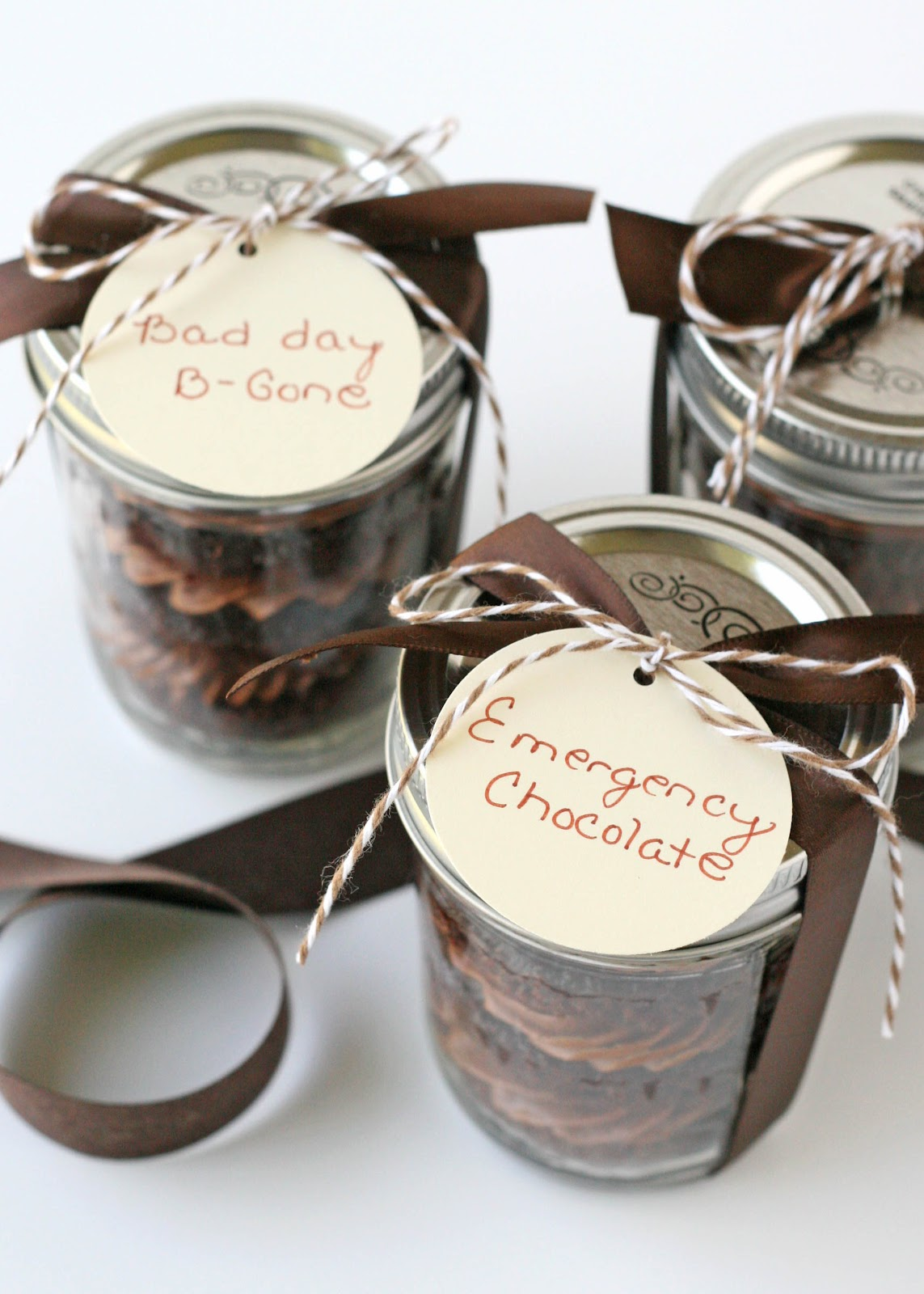 Chocolate Cupcakes in a Jar – Glorious Treats