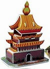 Image: Dimart Educational 3D Model Jigsaw Puzzle Chinese Architecture DIY Toy 24 Pcs