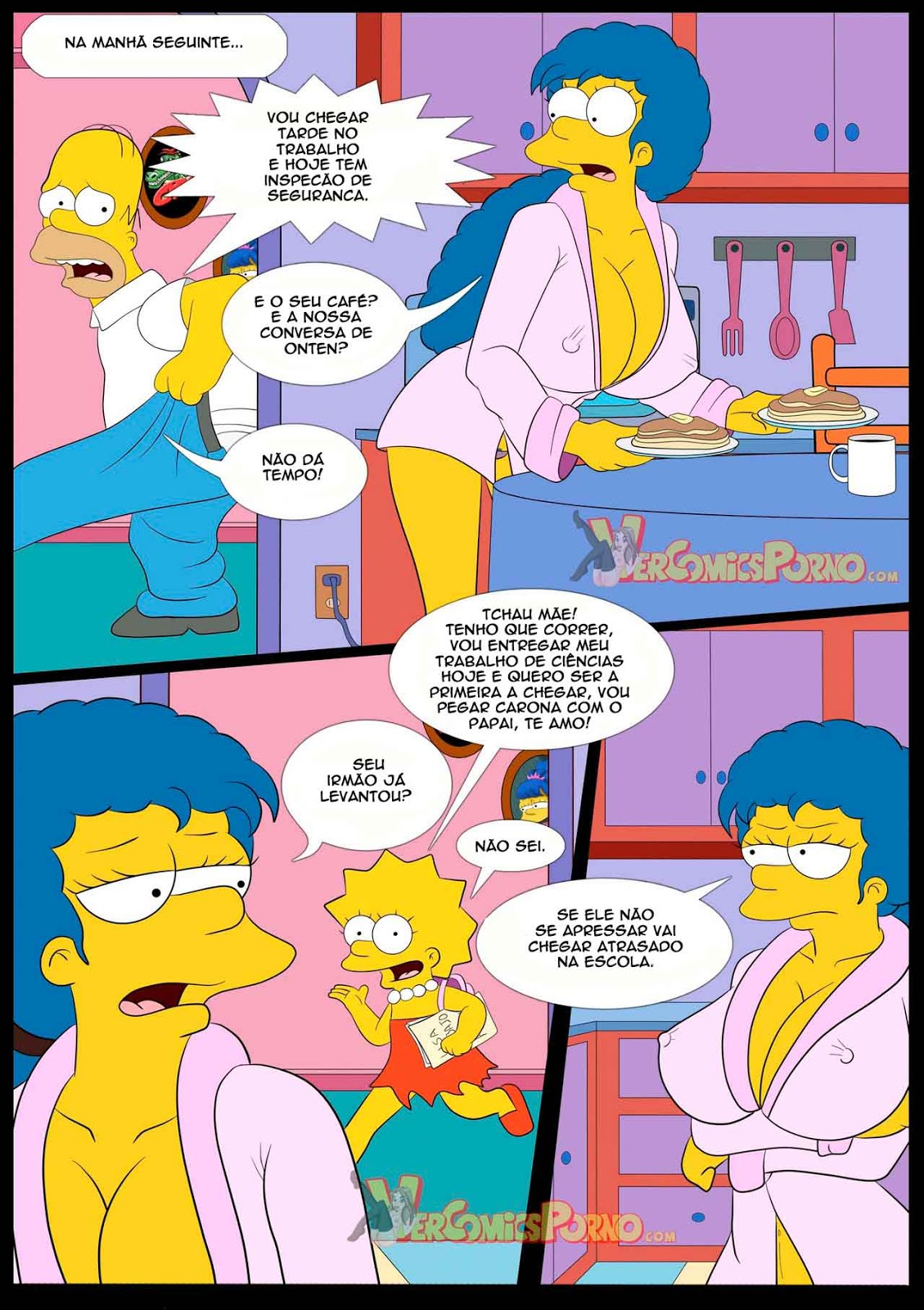 Os simpsons anime hentai