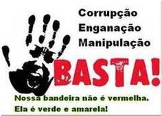 Queremos nosso Brasil de volta!