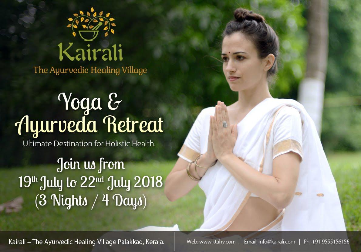Yoga & Ayurveda Retreat - July 19th July 22nd, 2018 (3 Nights / 4 Days)