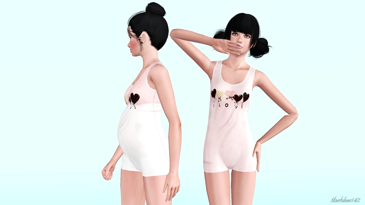 Sims 2 teenage clothes for adults