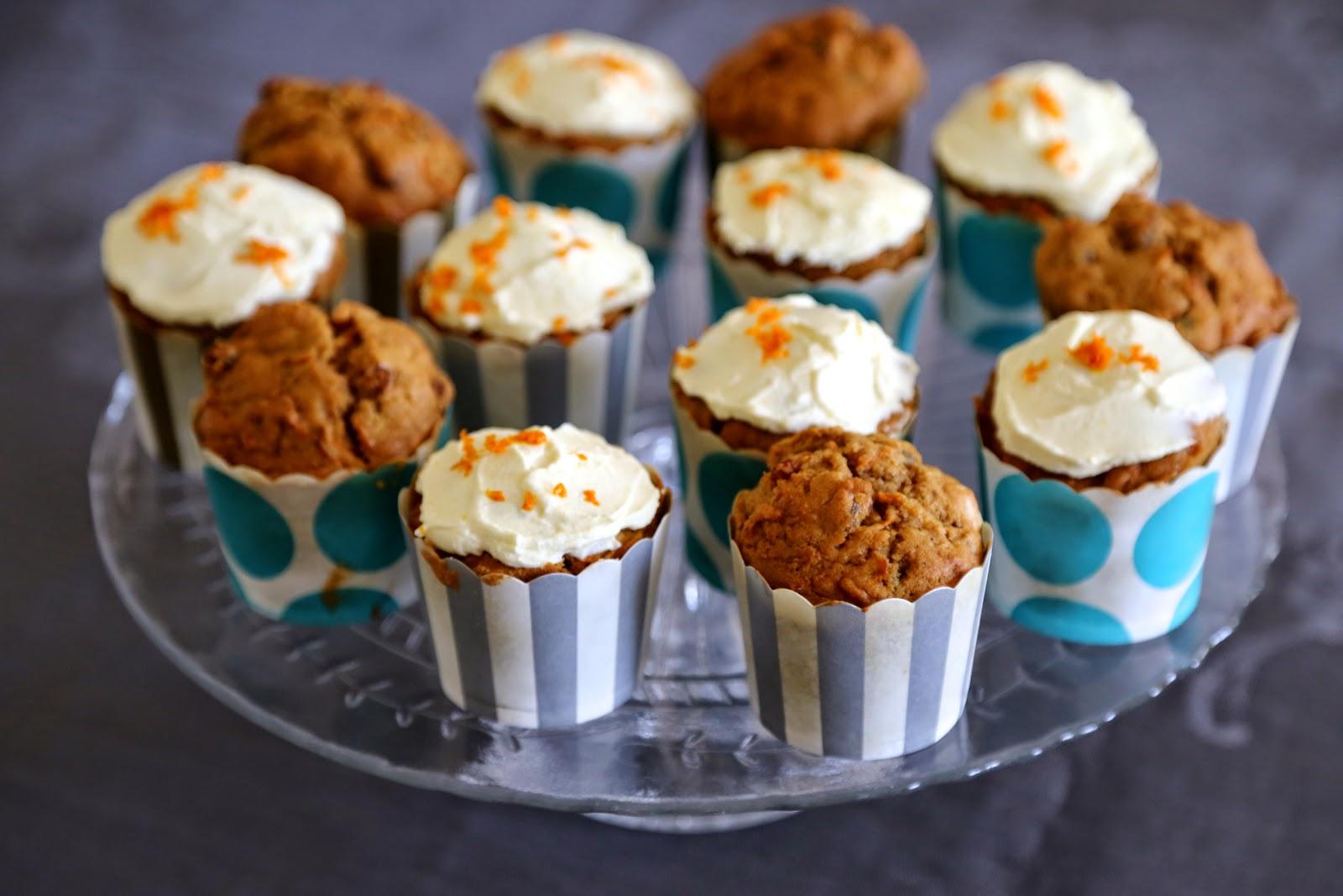 on dine chez nanou carrot cake muffin recette de julie andrieu