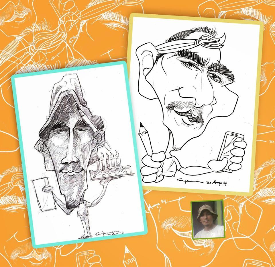 Karikatur 00 Contoh Koleksi Karikatur