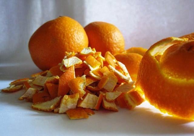 ماسك أو قناع طبيعي من قشر البرتقال