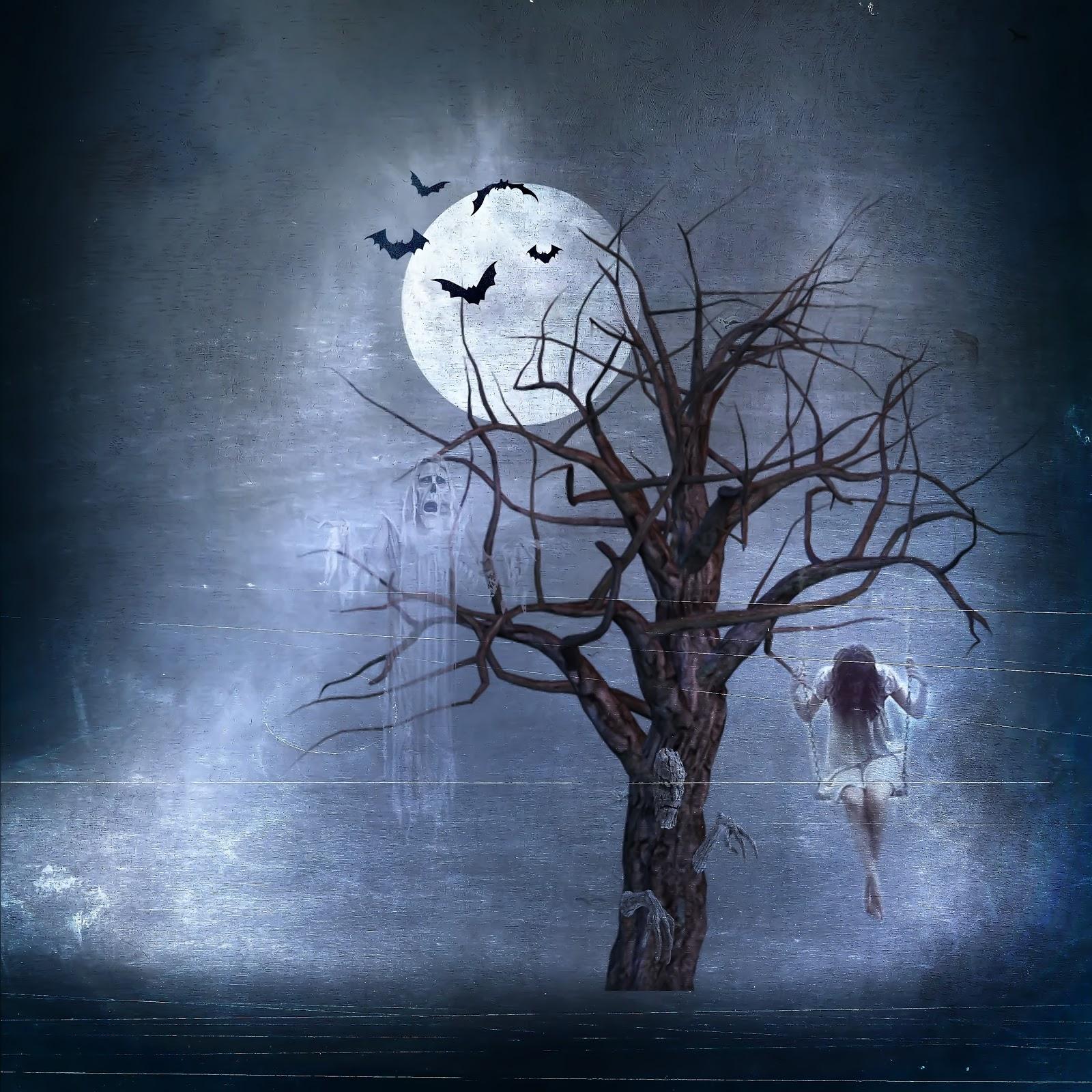 Wallpaper Halloween background