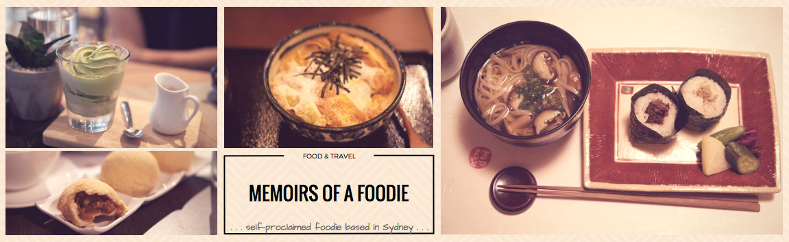Memoirs of a Foodie