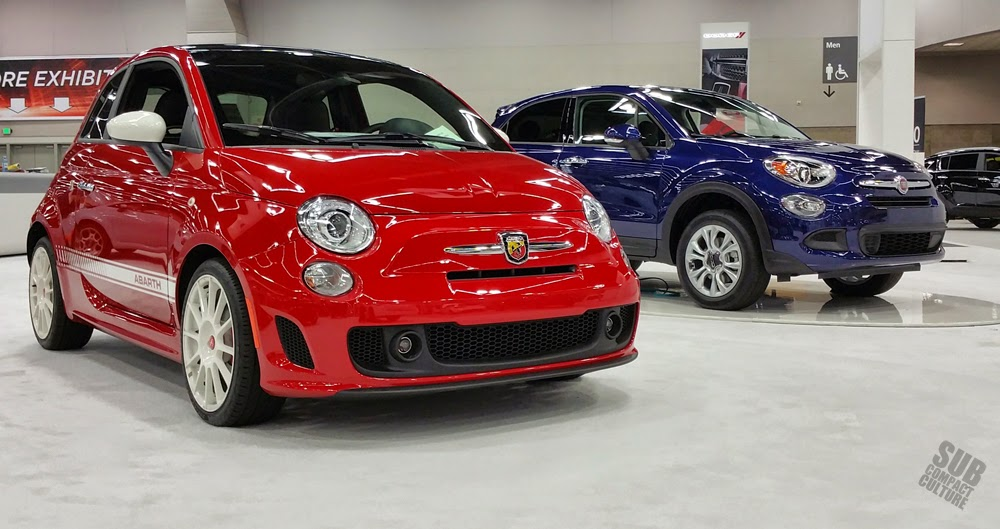 Fiat 500 Abarth and 500X