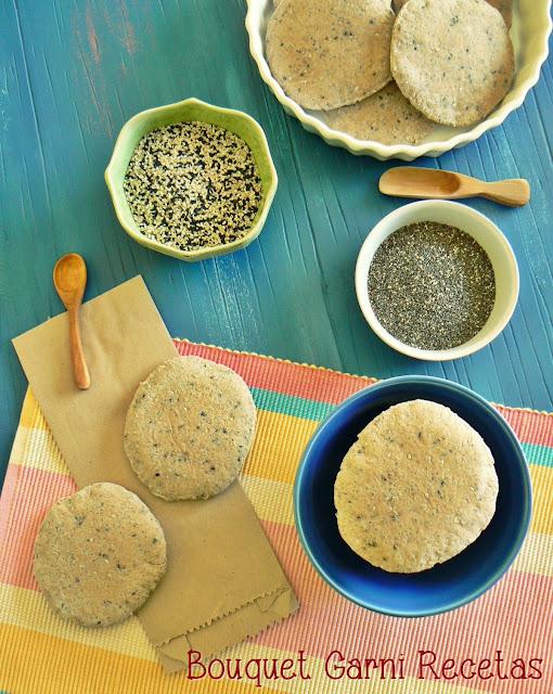 Pan �rabe integral con semillas