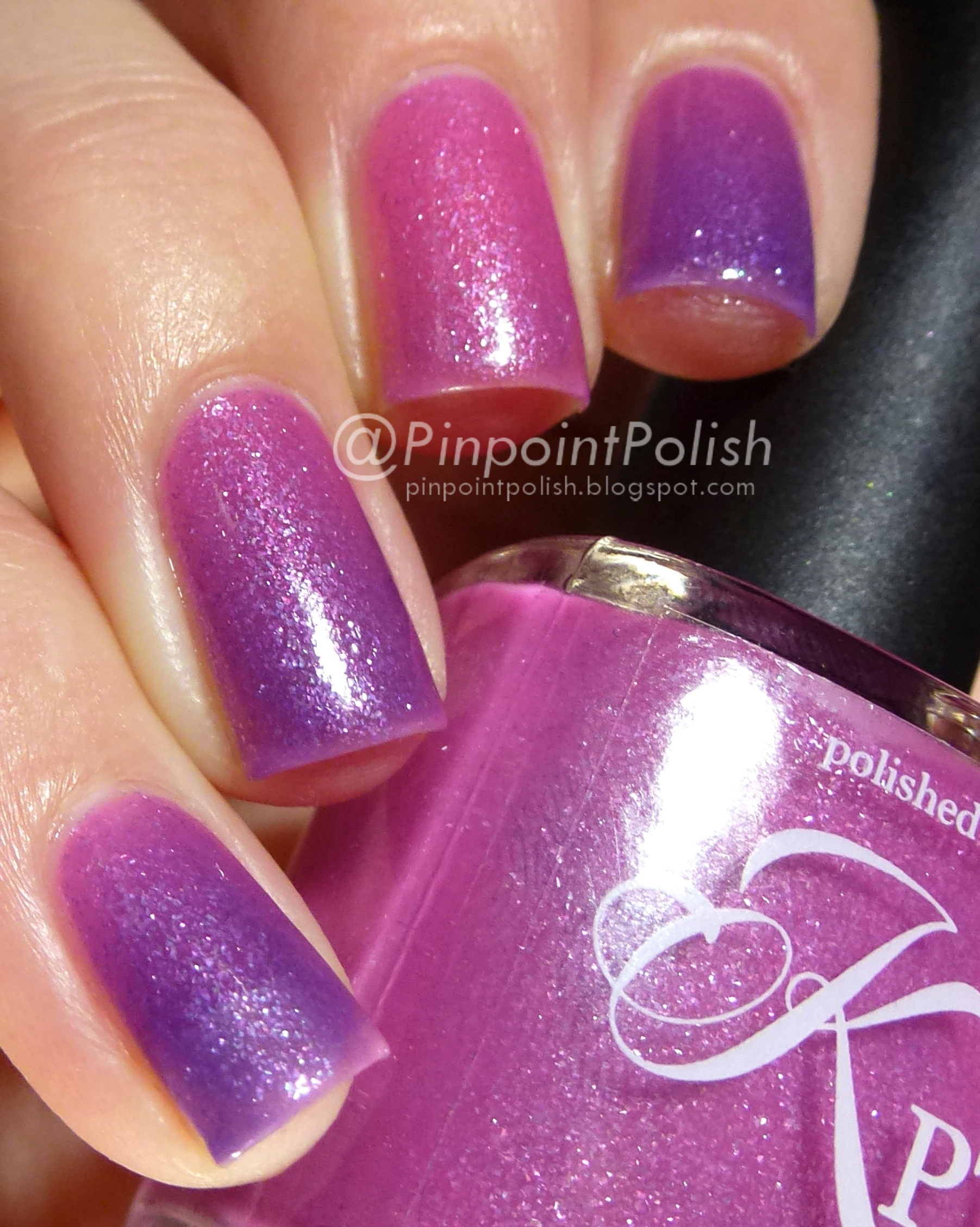 Love In Bloom, Polished by KPT, swatch